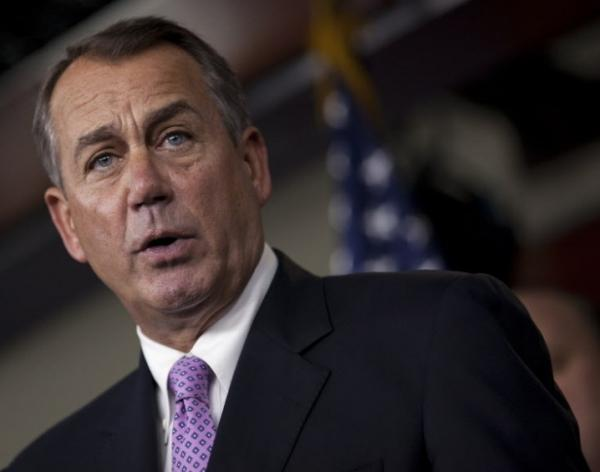 House Speaker John Boehner (R-Ohio) on Capitol Hill Thursday (Dec. 22, 2011).