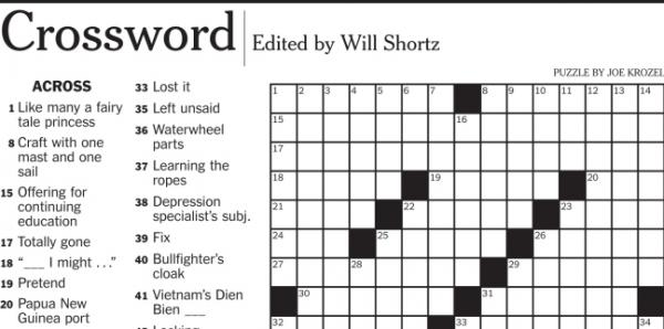 "A <em>New York Times </em>crossword puzzle clue asking for a 5-letter word that means ""Wack, in hip-hop"" led to an email and an argument over the real meaning of ""illin'."""