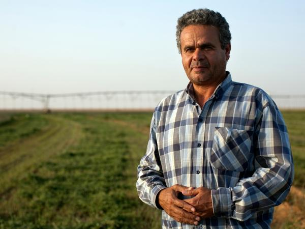 Ibrahim Dahrouk, a crop manager at Saudi-owned Kingdom Agricultural Development Company in Toshka, says the farm provides hundreds of jobs to local residents, including women. The wages of $6 to $9 a day are considered good for the region.