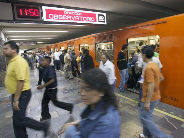 "Taibo's self-proclaimed ""street"" detective doesn't own a car. He gets around on Mexico City's packed, inexpensive subway. ""His only way to survive was to accept the chaos and become one with it,"" Taibo writes."