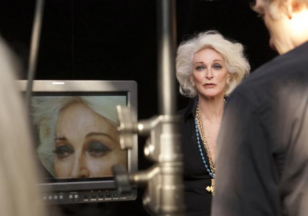 In <em>About Face, </em>former supermodels (including Carmen Dell'Orefice shown above) talk about what it's like to grow old in an industry that is obsessed with youth.