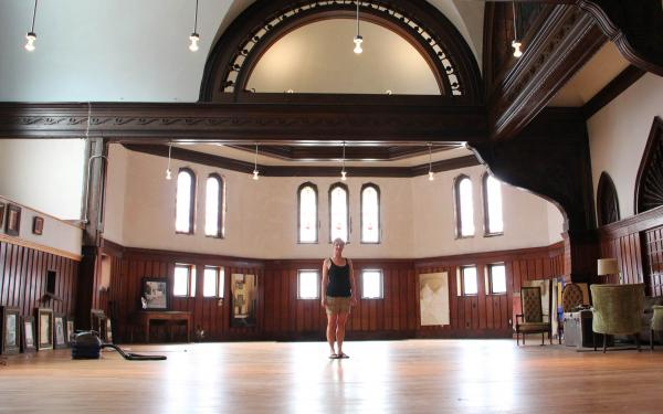 Painter<strong> </strong>Melissa Dominiak moved here from Seattle and purchased a massive church and home about two miles from Main Street in Hannibal, Mo., for $70,000. She plans to rehab the building herself and rent out the space for special events.