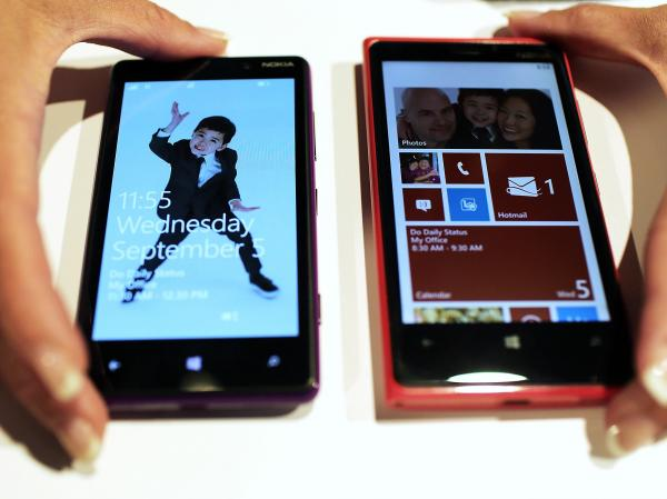 These Nokia phones unveiled earlier this month are the first smartphones built for Windows 8.