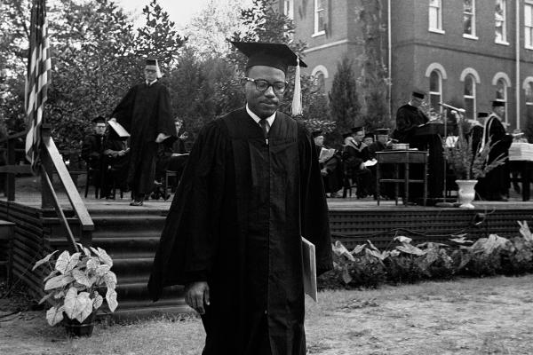 Meredith received his Bachelor of Arts degree in graduation ceremonies in August 1963. He had already taken several years of college courses at an all-black college before enrolling at Ole Miss.