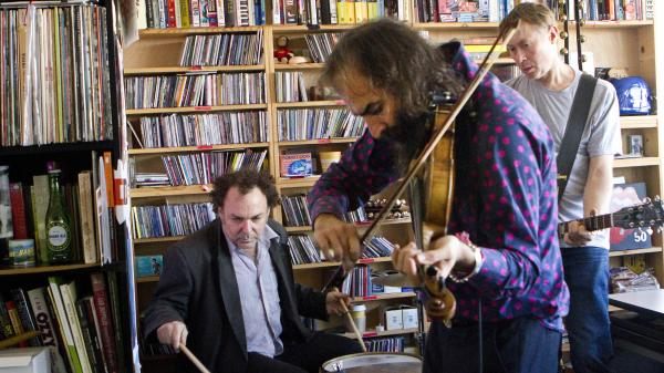 Dirty Three plays a Tiny Desk Concert on Sept. 24.