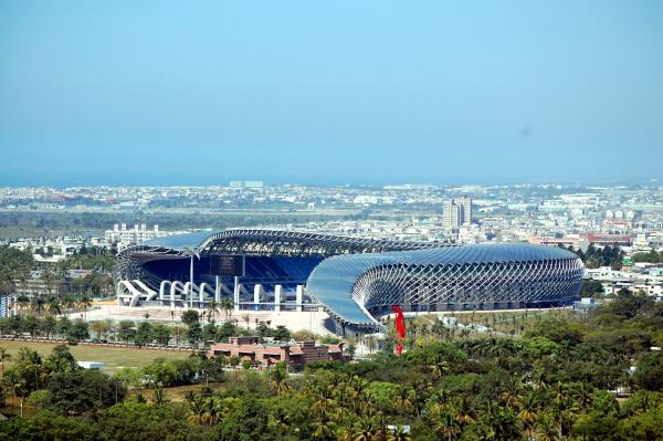 Main stadium for the World Games 2009, 2006-2009 Kaohsiung, Taiwan R.O.C.
