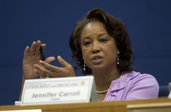 Former Florida Lt. Gov. Jennifer Carroll.