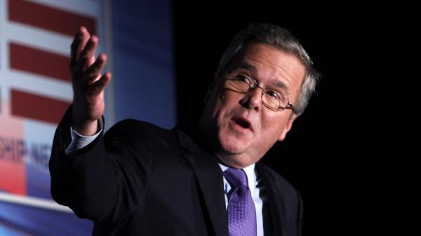Former Florida Gov. Jeb Bush speaks in Miami in January 2012.