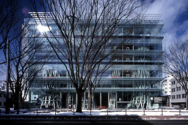 Sendai Mediatheque, 1995-2000, Sendai-shi, Miyagi, Japan
