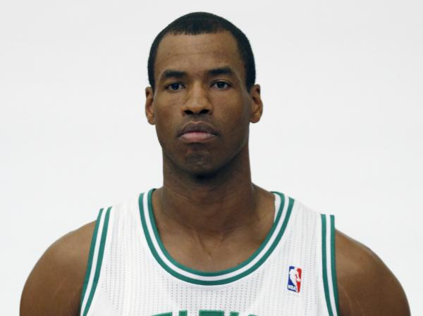 Jason Collins, a veteran NBA center, has become the first male professional athlete in the four major American sports leagues to come out as gay. Collins wrote a first-person account posted Monday on <em>Sports Illustrated</em>'s website. He finished this past season with the Washington Wizards and is now a free agent.