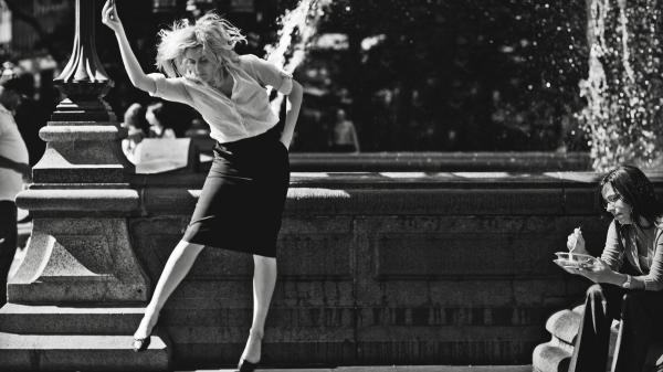 "In <em>Frances Ha,</em> Greta Gerwig stars as a young dancer trying to find her way on her own in New York City. Noah Baumbach shot the film in black and white because it helped him ""see the city with new eyes,"" he says."