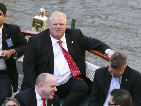 Toronto Mayor Rob Ford in a photograph taken last September.