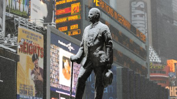 His statue may be a Theater District landmark now, but George M. Cohan caused no small amount of trouble for Actors' Equity early in its history. The union marks its 100th anniversary this year.