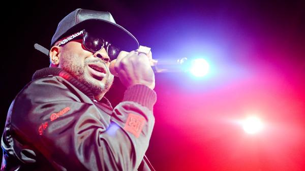 The-Dream performing in New York City in May.