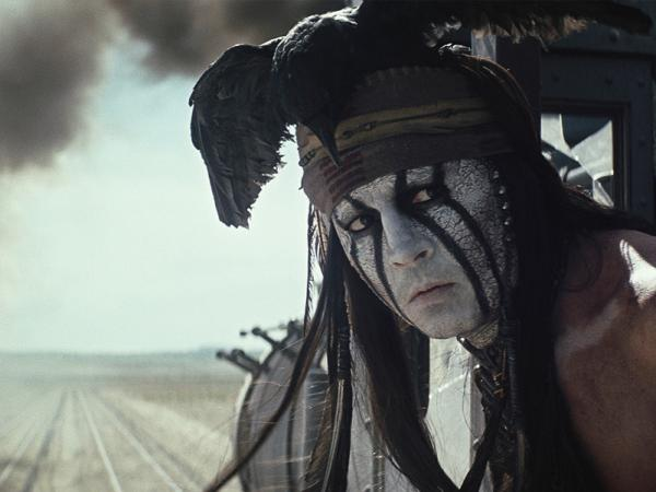 "Adorned with a dead black crow, headband and face paint, Depp said he knew his Tonto would need to go ""against the grain of what had been done before, [he] knew it would require a very, very important iconic look."""