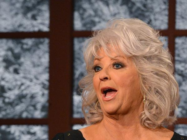 Cooking show host Paula Deen visits FOX Studios in December.