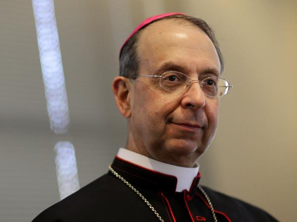 Baltimore Archbishop William Lori gave voice to a letter Catholic groups sent to the administration and Congress to protest insurance rules for contraceptives.