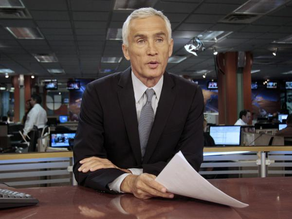 Univision newscaster Jorge Ramos anchors <em>Noticiero Univision</em>, the top-ranked newscast on Spanish-language TV.