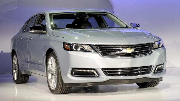 The 2014 Chevrolet Impala, which <em>Consumer Reports</em> says its better than its foreign rivals.