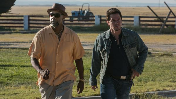 Bobby and Stig (Denzel Washington and Mark Wahlberg) are two hypermacho hoods who've teamed up to rob a bank — but wait, are they really the bad guys they say they are?