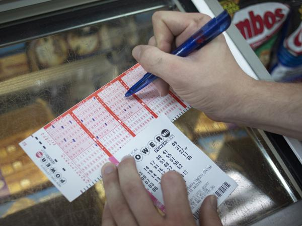 This one wasn't a winner: A Powerball ticket sold Wednesday in Port Washington, N.Y.