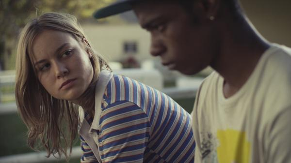 In <em>Short Term 12</em>, Grace (Brie Larson) counsels Marcus (Keith Stanfield), an angry young man about to age out of the foster care system.