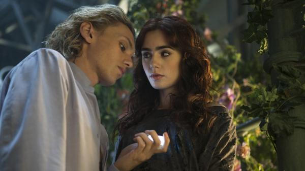 Jace helps Clary as she sets about uncovering the truth about her unsuspected heritage as one of the chosen few who defend humans from things supernatural, and also he is pretty and blond and dreamy and distracting.