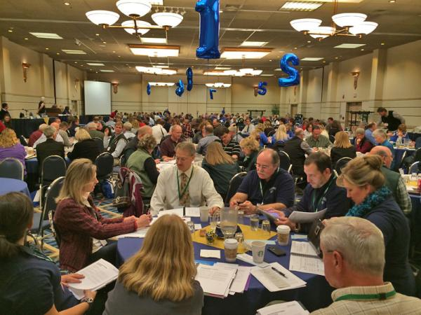 Members of the Idaho School Boards Association set their 2014 legislative agenda at their annual meeting in Coeur d'Alene.