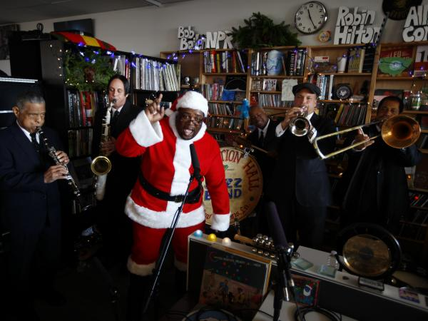 Preservation Hall Jazz Band performs at the Tiny Desk on Dec. 3, 2013.