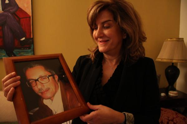 Nabila Hamade says, before his death Friday, her husband Kamal had begun talking about leaving Afghanistan and opening a restaurant in Beirut.