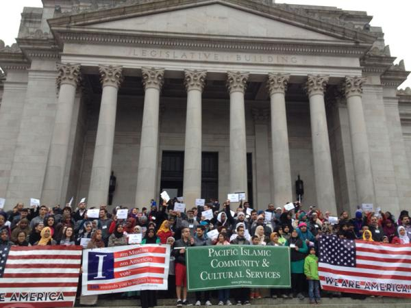 More than 500 Muslim Americans lobbied for the Washington DREAM Act in Olympia