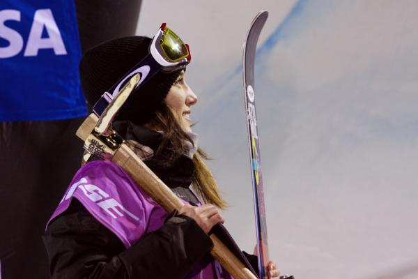 Angeli VanLaanen of Bellingham was named to the U.S. Olympic Team in ski halfpipe.
