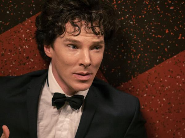 "Benedict Cumberbatch in ""The Empty Hearse."""