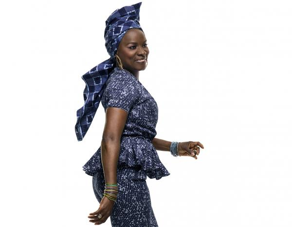 Angélique Kidjo's new album, <em>Eve</em>, showcases the voices of women from Kenya and her home country of Benin.
