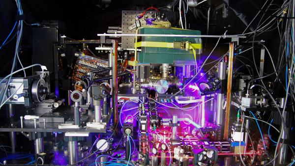 Computer networks and GPS systems are only possible because of the precision timekeeping of atomic clocks like the one above, says clockmaker and physicist Jun Ye.