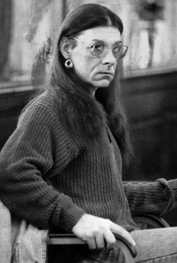 Michelle Kosilek in a New Bedford, Mass., court in 1993. When Kosilek was known as Robert, he was convicted of the 1990 murder of his wife.