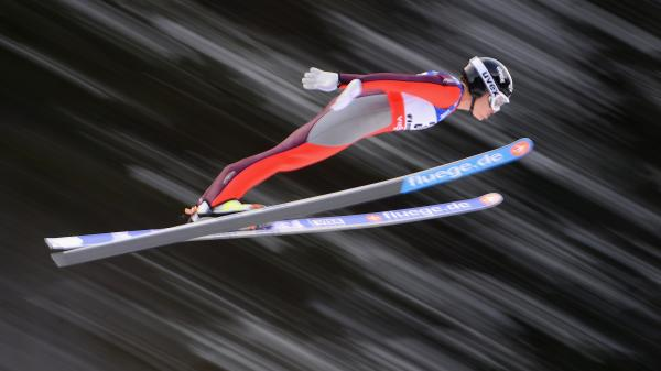 Lindsey Van at the FIS Nordic World Ski Championships last year, in Val di Fiemme, Italy.