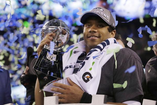 Russell Wilson is only the second black quarterback to ever win the Super Bowl.