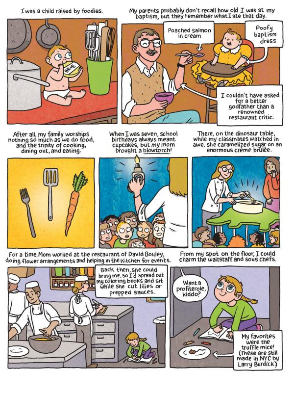 Lucy Knisley's graphic novel and memoir, <em>Relish</em>, is the story of how she came to love food and cooking.