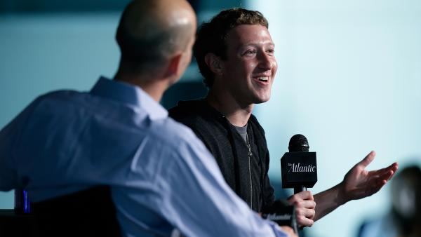 """Facebook co-founder and CEO Mark Zuckerberg told James Bennet, editor in chief of <em>The Atlantic</em>, in September that he wasn't worried about whether Facebook is """"cool."""" """"We're almost 10 years old, and we're definitely not a niche thing at this point,"""" Zuckerberg said."""
