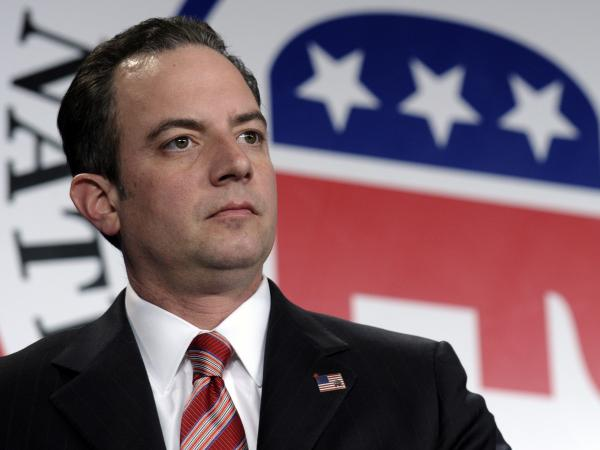 Republican National Committee chairman Reince Priebus is seen at the Jan. 24 RNC winter meeting in Washington. Priebus celebrates the achievements of black Republicans in a series of new radio ads designed to honor Black History Month.
