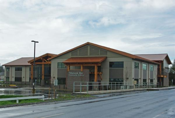 File photo of Tillamook Bay Community College in Tillamook, Ore.