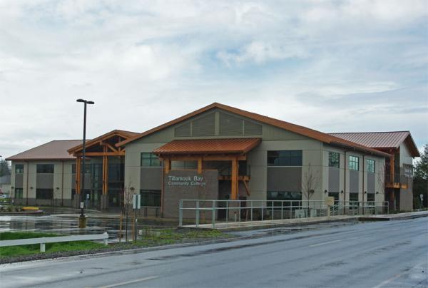 File photo of Tillamook Bay Community College in Tillamook, Ore.