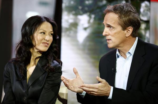 Amy Chua and Jed Rubenfeld appear on NBC News' <em>Today</em> show.