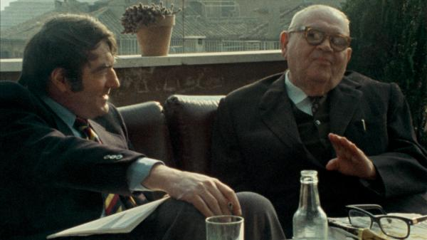 In 1975, <em>Shoah</em> director Claude Lanzmann interviewed Benjmain Murmelstein, the last surviving Elder of the Jews of the Czech Theresienstadt ghetto, at his home in Rome. The resulting film is <em>The Last of the Unjust.</em>