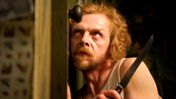 Simon Pegg (<em>Sean of the Dead, Star Trek</em>) plays Jack, a writer gone paranoid while working on a book about 19th-century murderers.