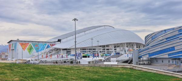 Fisht Olympic Stadium is pictured in the new Sochi Olympic Park. (Courtesy of Populous)