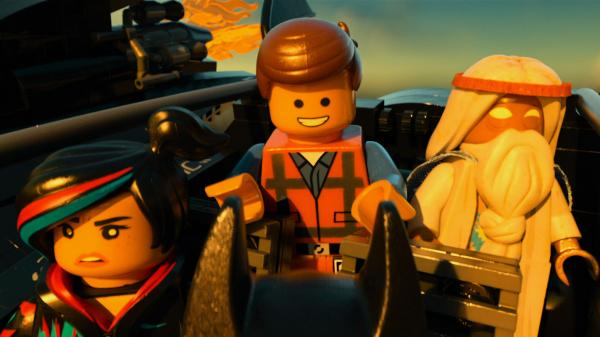 In <em>The Lego Movie,</em> ordinary-guy Emmet (Chris Pratt) is expected to save the world with the help of a rebellious crew that includes Wyldstyle (Elizabeth Banks) and Vitruvius (Morgan Freeman).