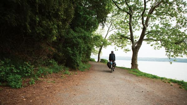 This isn't Nick Hand's first epic trip — he took a previous journey by bike around the British coastline.