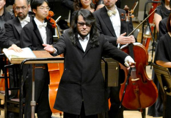 "Mamoru Samuragochi, a celebrated Japanese composer known as the ""Japanese Beethoven"" because he composed some of the country's most well known music after losing his hearing, is sending shockwaves throughout his country on Wednesday after admitting to using a ghostwriter. (Jiji Press/AFP/Getty Images)"